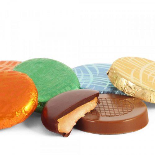 Bănuți de ciocolată